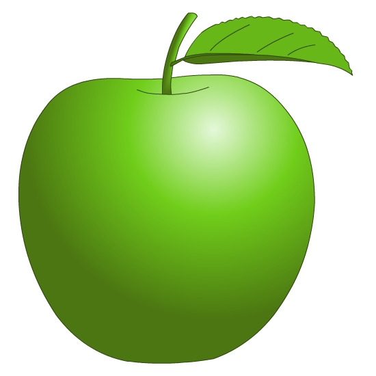 Apple Green Fruit Clip Art