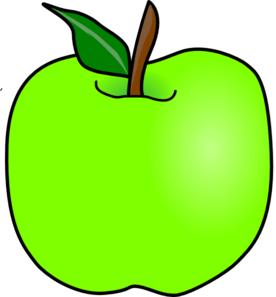 Green Apple Clipart - Clipart Kid