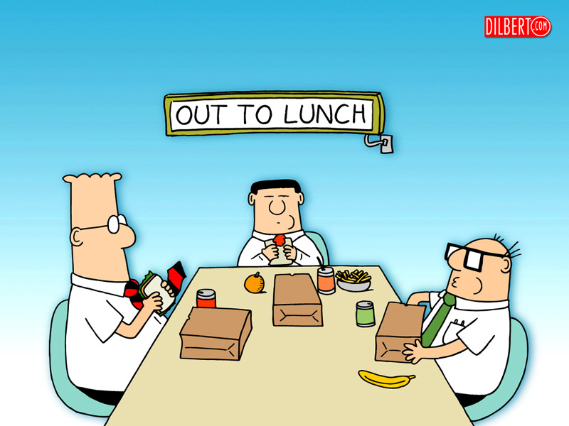 Working Lunch Clipart - Clipart Kid