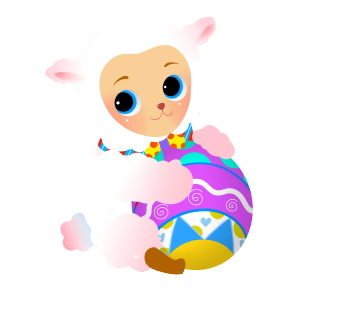 Easter Lamb Clipart Easter Lamb Graphic 3med Gif Pictures To Pin On