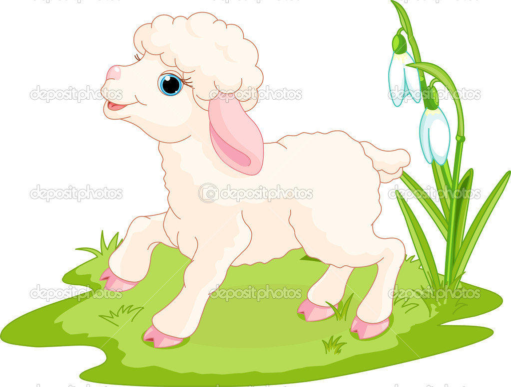 Easter Lamb Clipart Easter Lamb   Stock