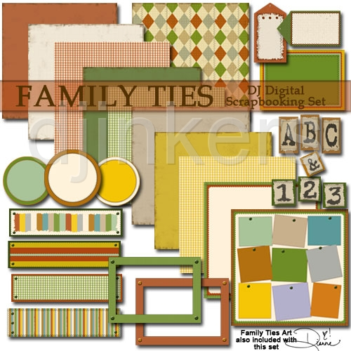 Family Ties Clipart Scrapbook Download Family Ties Clipart Scrapbook