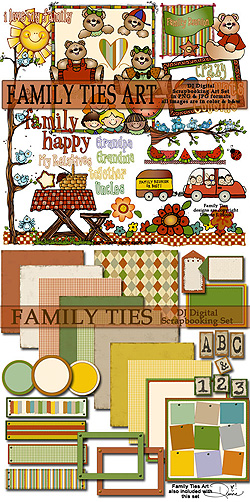 Family Ties Clipart Scrapbook Download Sku Djid032 Family Ties Is The