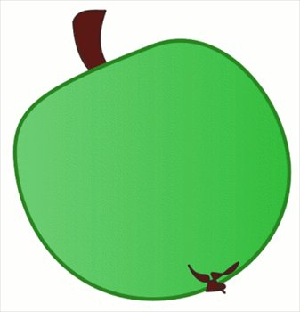 Free Green Apple Clipart   Free Clipart Graphics Images And Photos