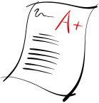 Good Grades Clip Art