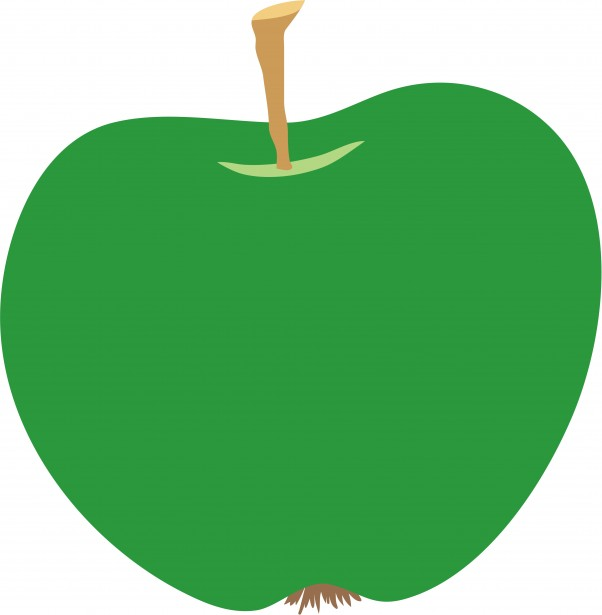 Green Apple Clipart Free Stock Photo   Public Domain Pictures