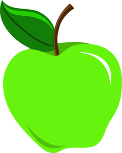 Green Apple Clipart Image   Sour Green Apple