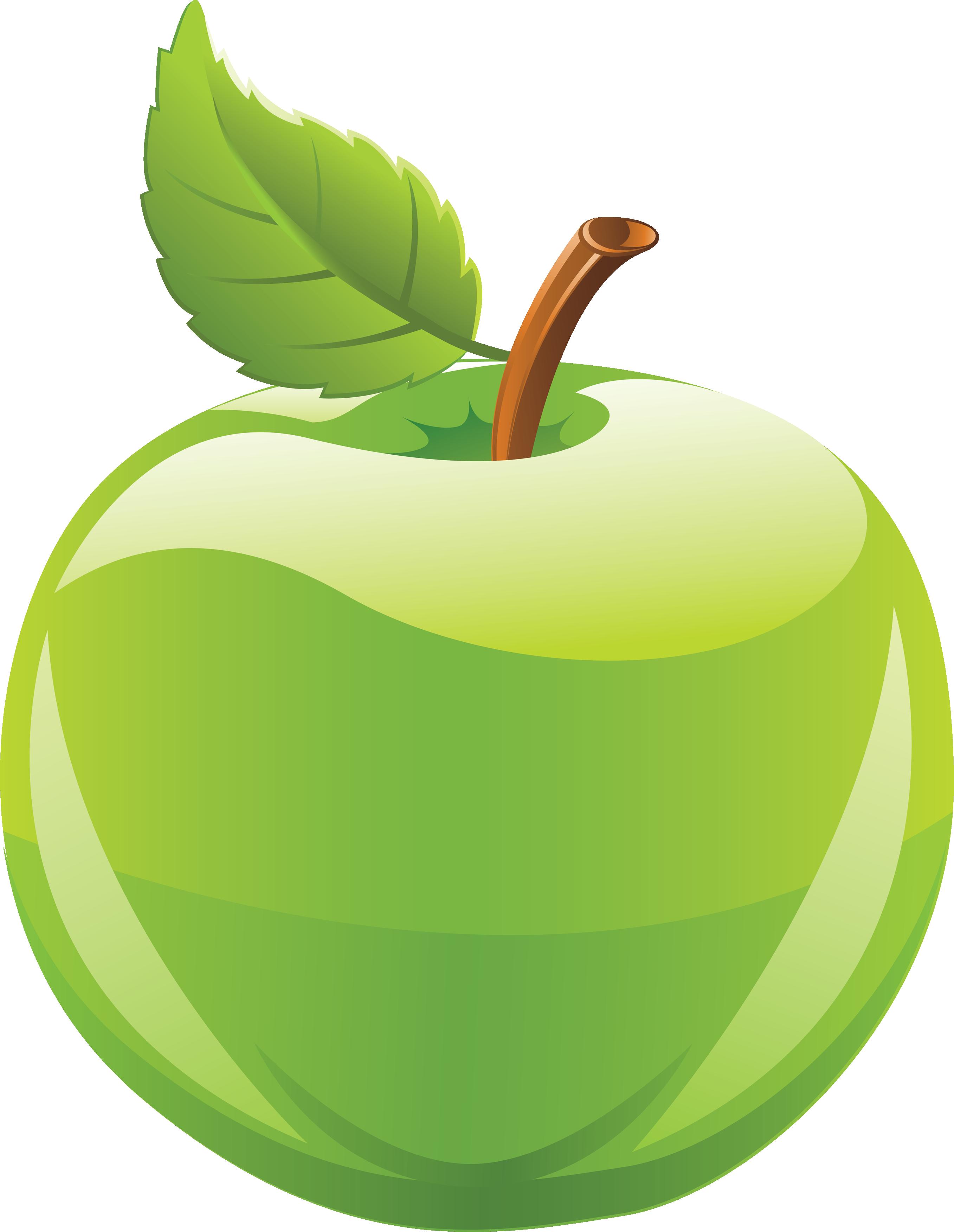 green apple clip art � cliparts