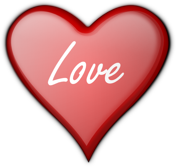 Love Heart Clipart - Clipart Kid