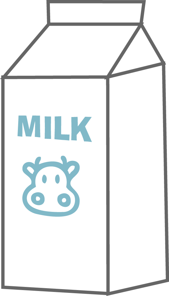 Milk Carton Clipart Black And White   Clipart Panda   Free Clipart