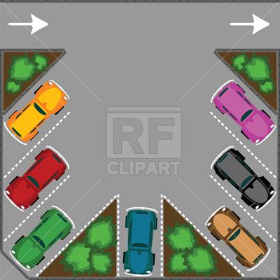 Parking Arts On A Parking Car Park Parking Lot Clipart Car Pictures