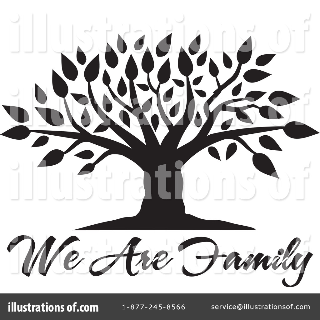 Royalty Free  Rf  Family Tree Clipart Illustration  1115561 By Johnny