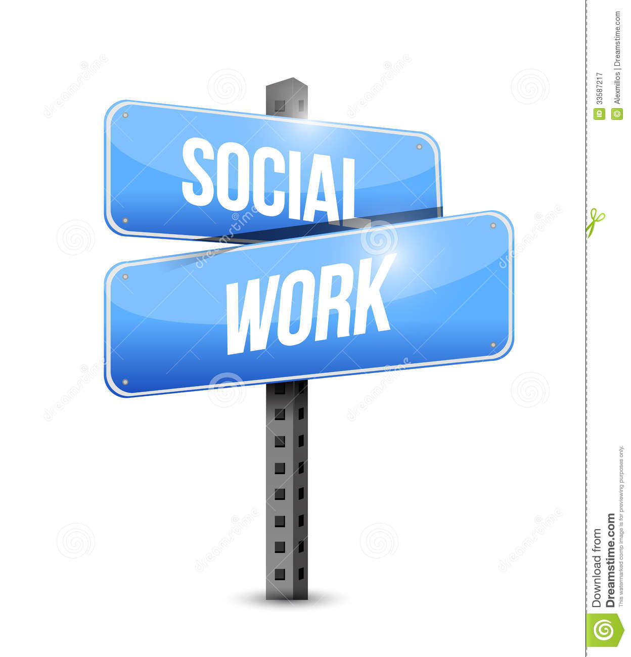 Social Work Clipart Social Work Road Sign