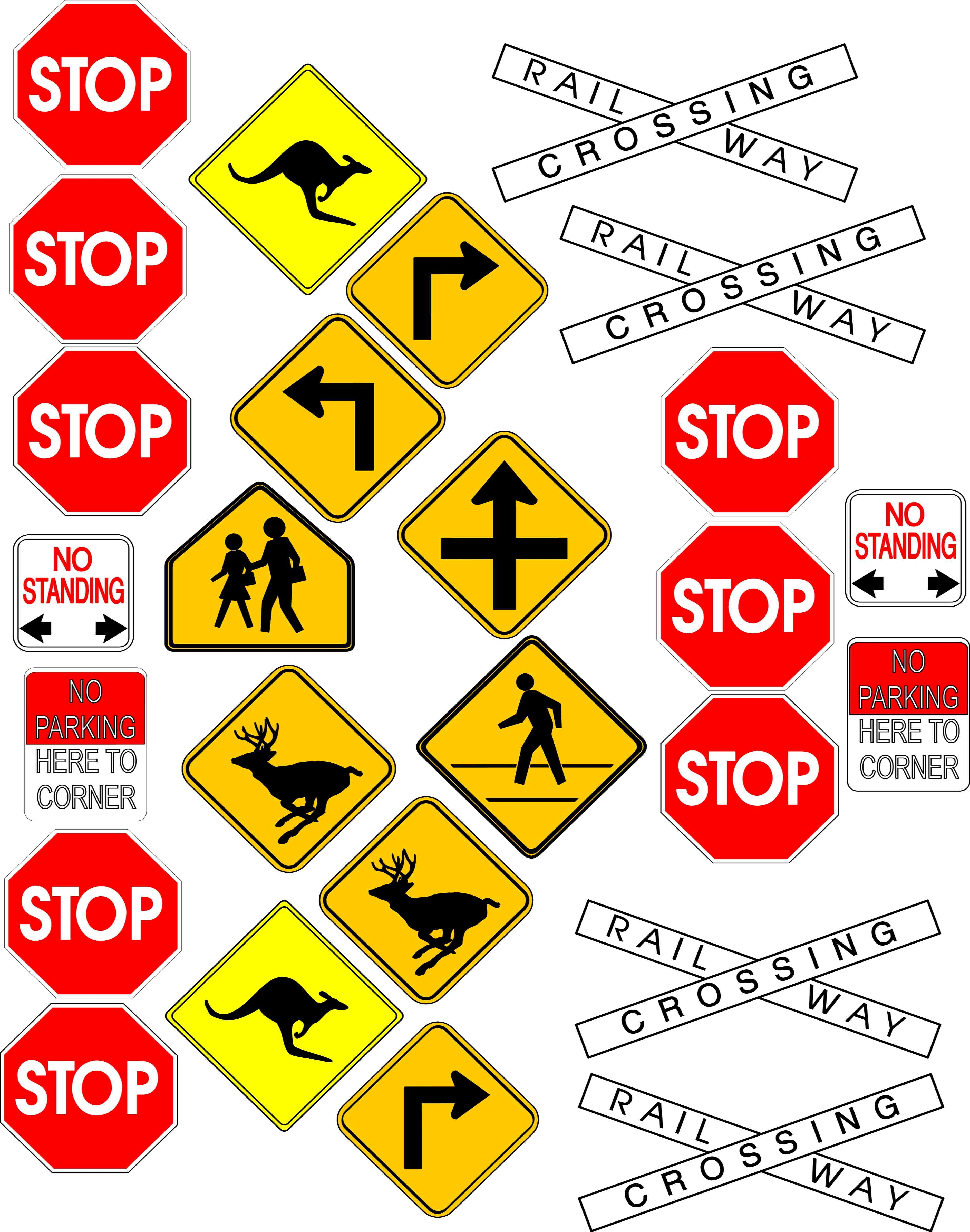 Street Sign Meanings   Free Cliparts That You Can Download To You