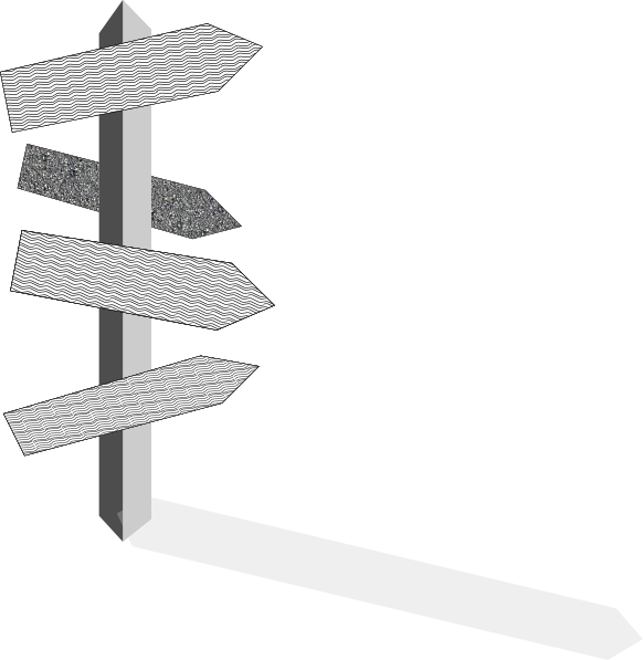 Street Sign Post Clip Art At Clker Com   Vector Clip Art Online