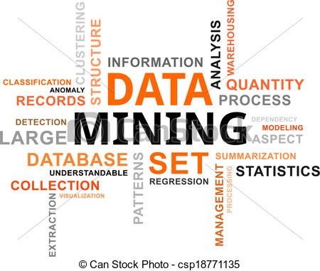 Vectors Of Word Cloud   Data Mining   A Word Cloud Of Data Mining