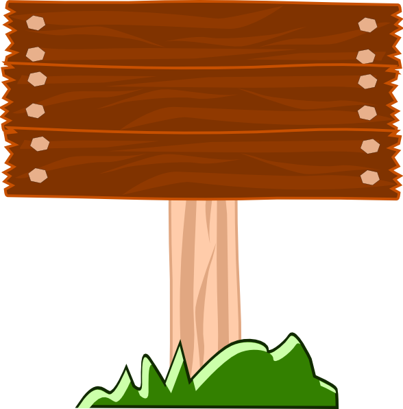 Wood Sign Clipart - Clipart Suggest