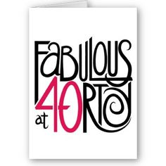 40th Birthday Quotes   Poems