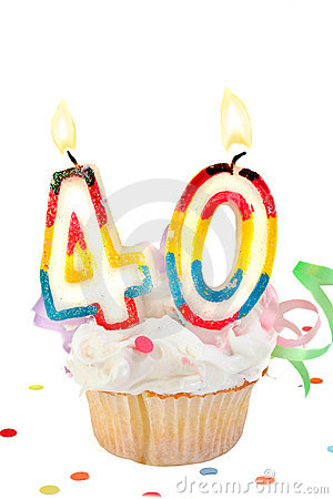 40th Birthday Stock Photography   Image  11470092