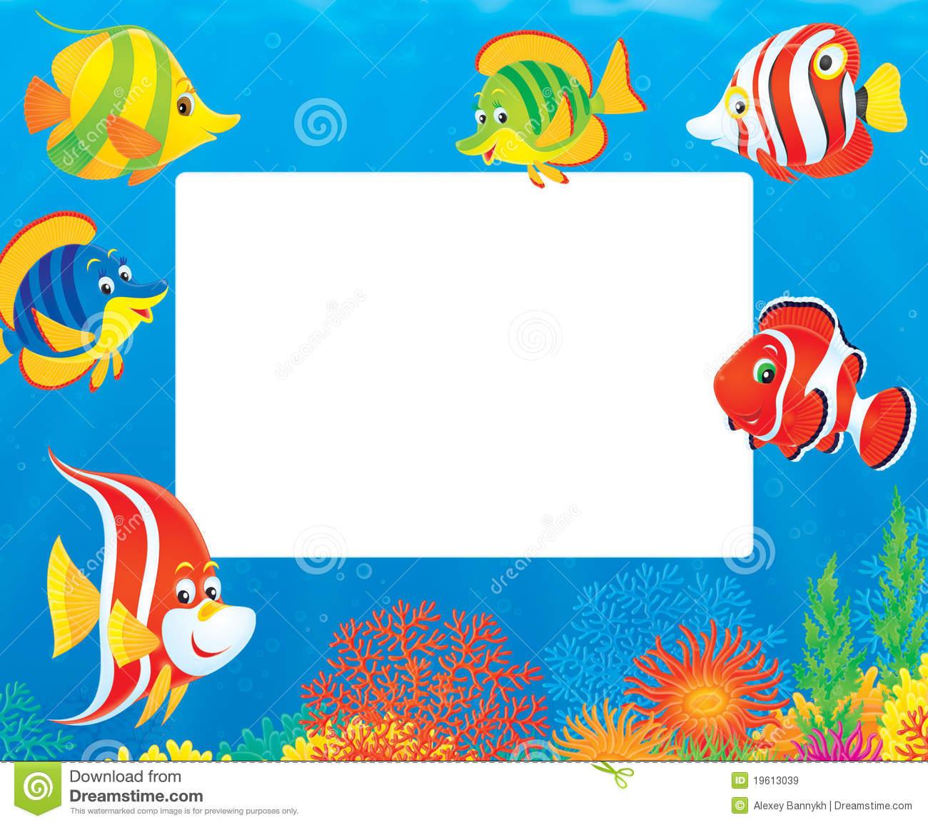 Tropical Fish Border Clipart - Clipart Kid
