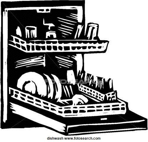 Dishwasher Clip Art ~ Dishwasher clipart suggest