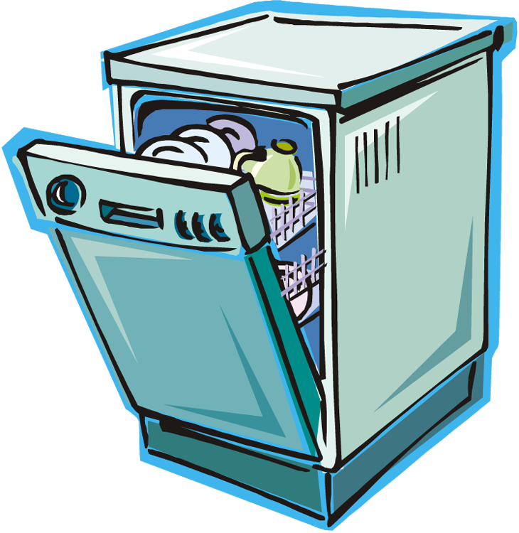 Dishwasher Clipart 208949981 Png