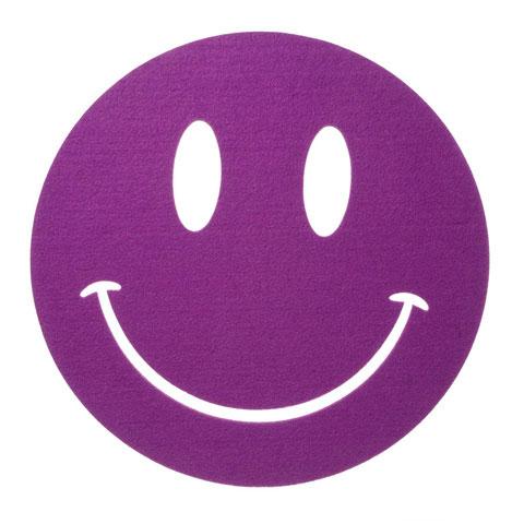 Felties Felt Bases   Sheets   Felties  Felt Base  Purple Smiley Face