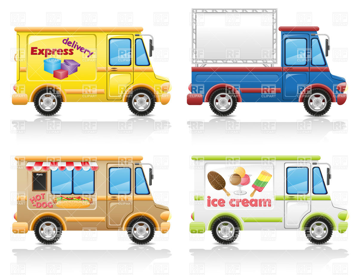Food Truck Clipart - Clipart Kid