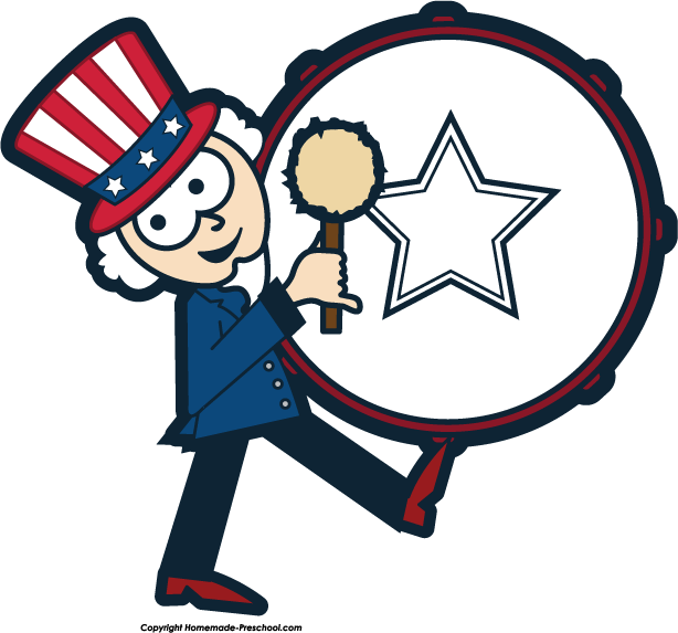 Clip Art Parade Clip Art parade free clipart kid home july 4th uncle sam drum