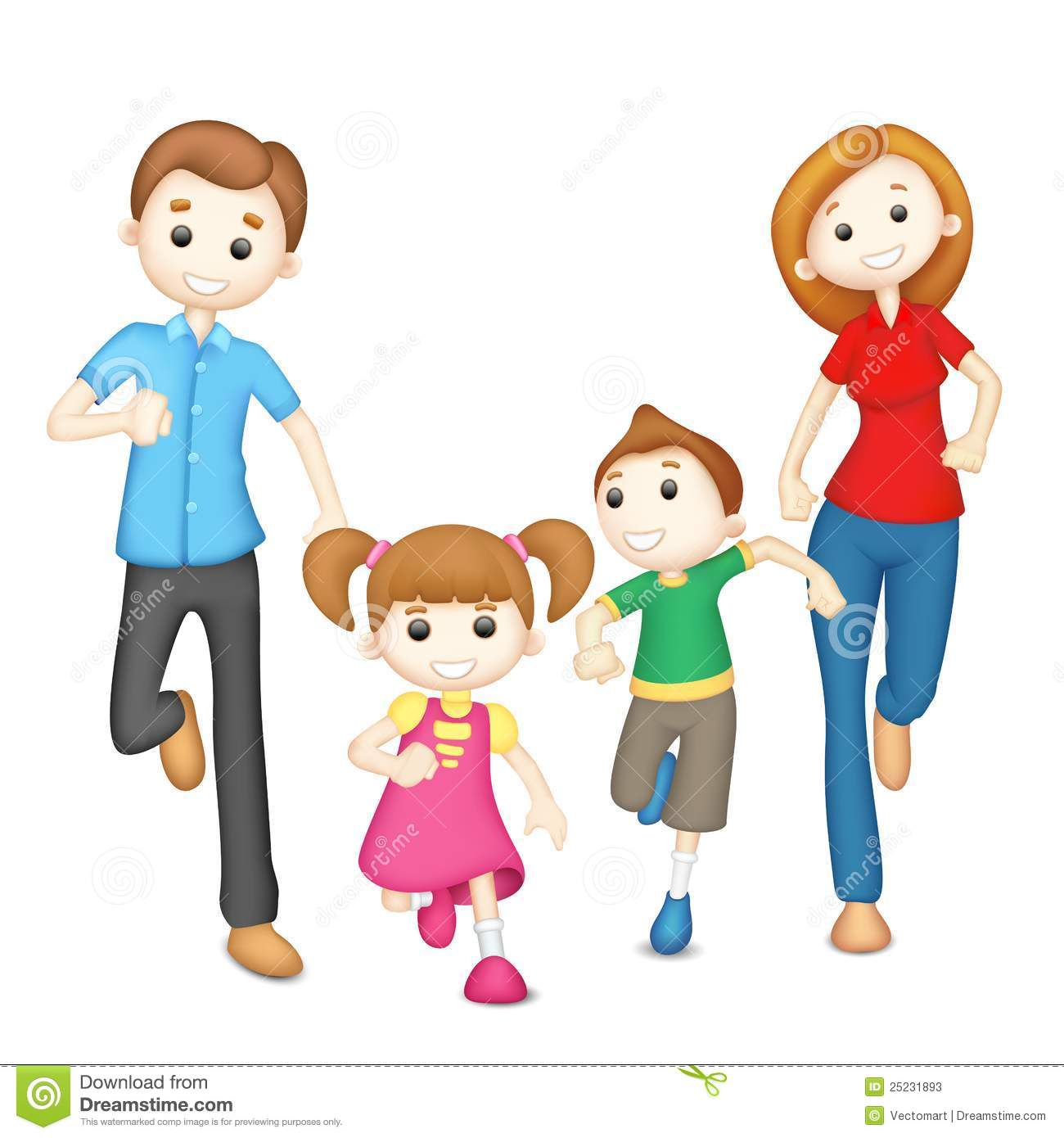 Family Fitness Clipart - Clipart Suggest