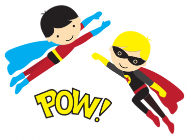 Superhero Clip Art 6   The Wigwam Day Nursery Reading Berkshire