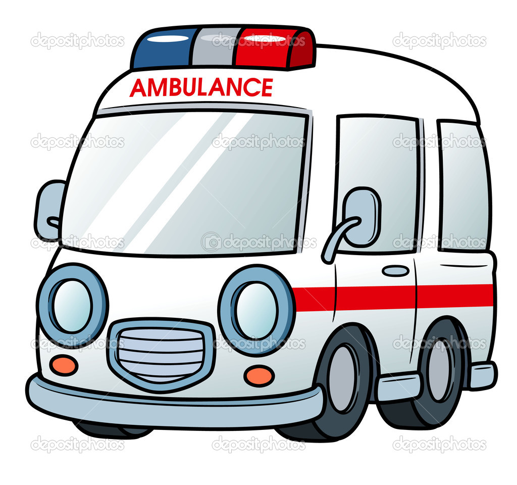 Cartoon Ambulance Clipart - Clipart Kid