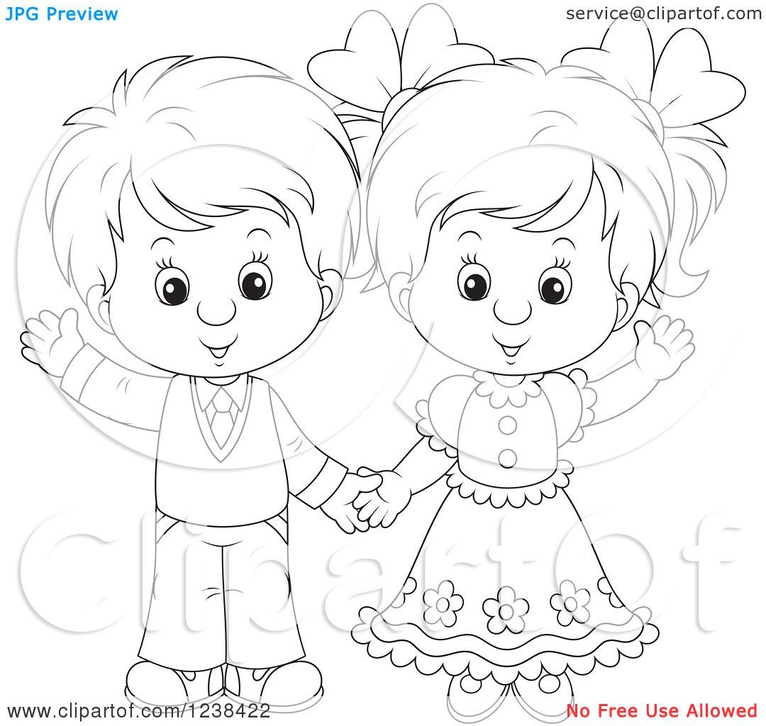 Мальчик девочек рисунки своим руками