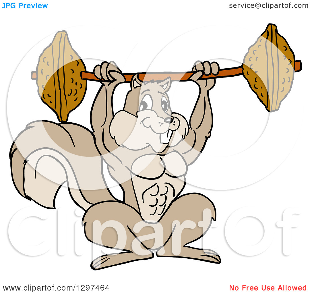 bodybuilder cartoon clipart clipart kid