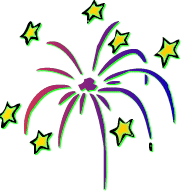 Moving Fireworks Clipart - Clipart Kid