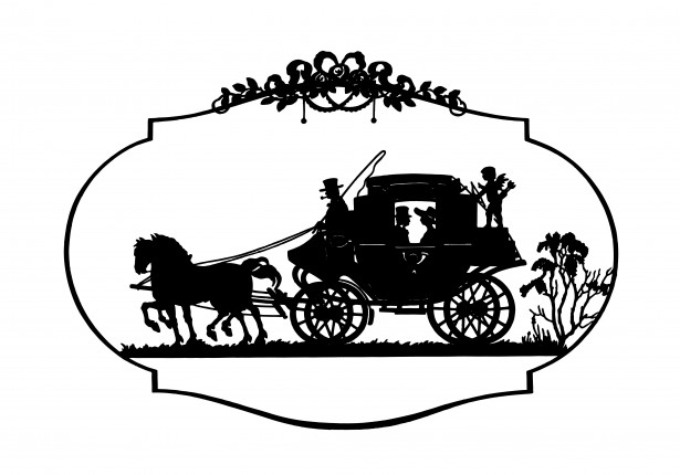 Horse And Carriage Vintage Clipart Jpg