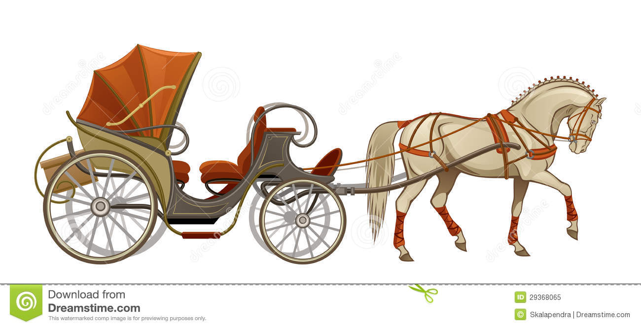Horse Carriage Royalty Free Stock Photo   Image  29368065