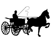 Horse Drawn Carriage Clipart Hor751 Jpg
