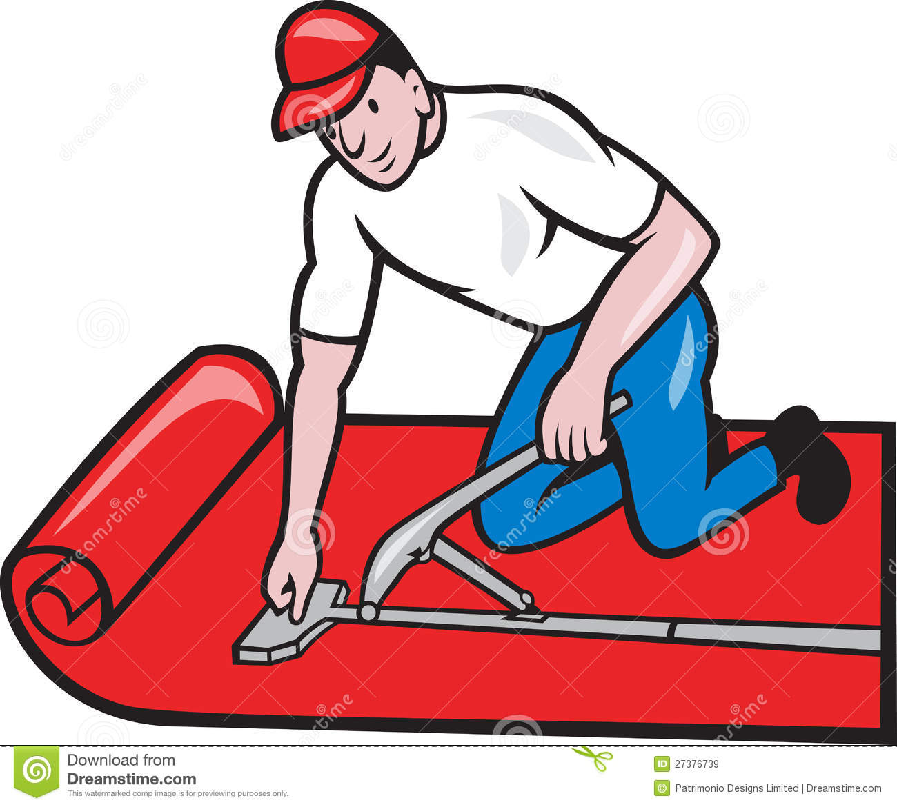 Carpet Installation Tools Clip Art