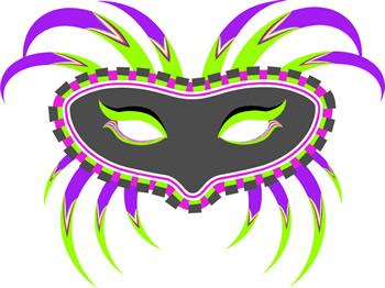 Clip Art Mardi Gras Mask Clipart mardi gras mask clipart kid masks clip art 1
