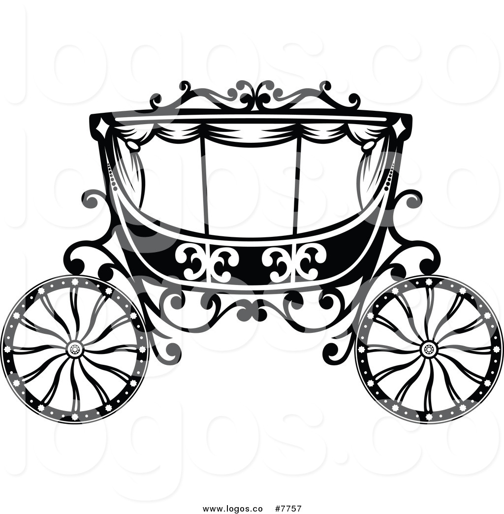 Royalty Free Horse Carriage Stock Logo Clipart Illustrations