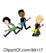 Royalty Free  Rf  Rock And Roll Clipart Illustrations Vector