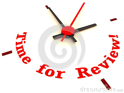 Time For Review Stock Image   Image  30484511