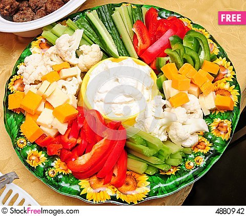 Veggies And Cheese Plate 2   Free Stock Photos   Images   4880942