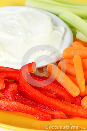 Veggies And Dip Stock Image   Image  30218171