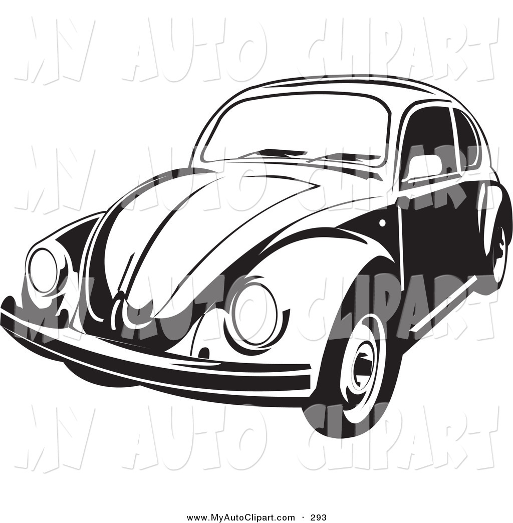 Vw Bug Clipart Black And White Beetle 20clipart