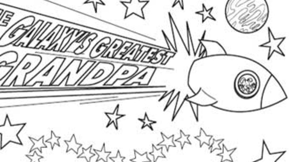 worlds greatest grandpa coloring pages - photo#8