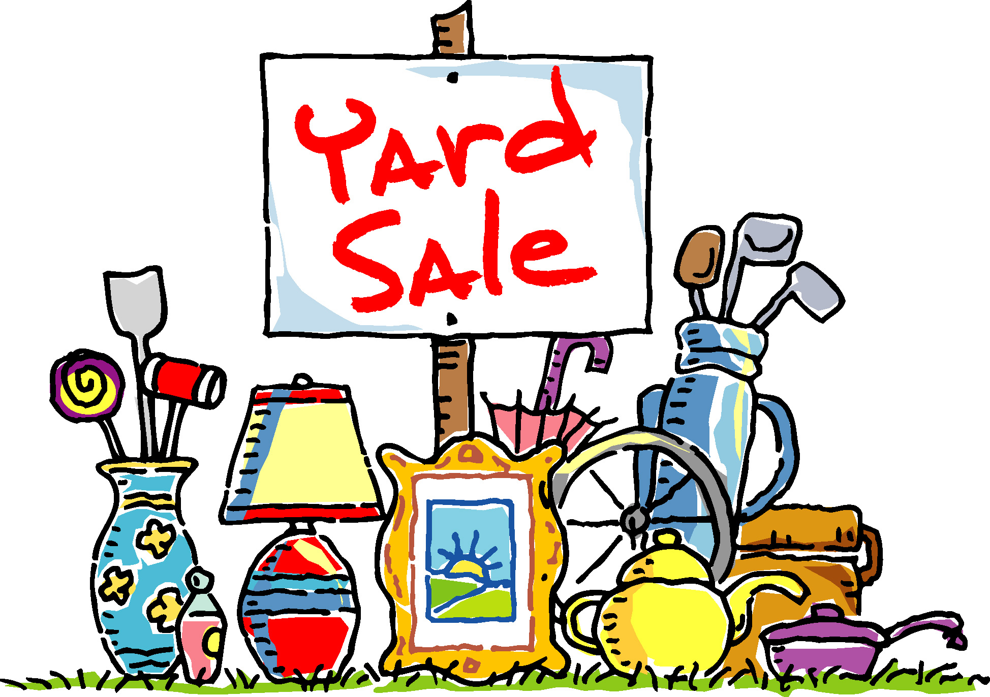 13 Free Yard Sale Clip Art   Free Cliparts That You Can Download To