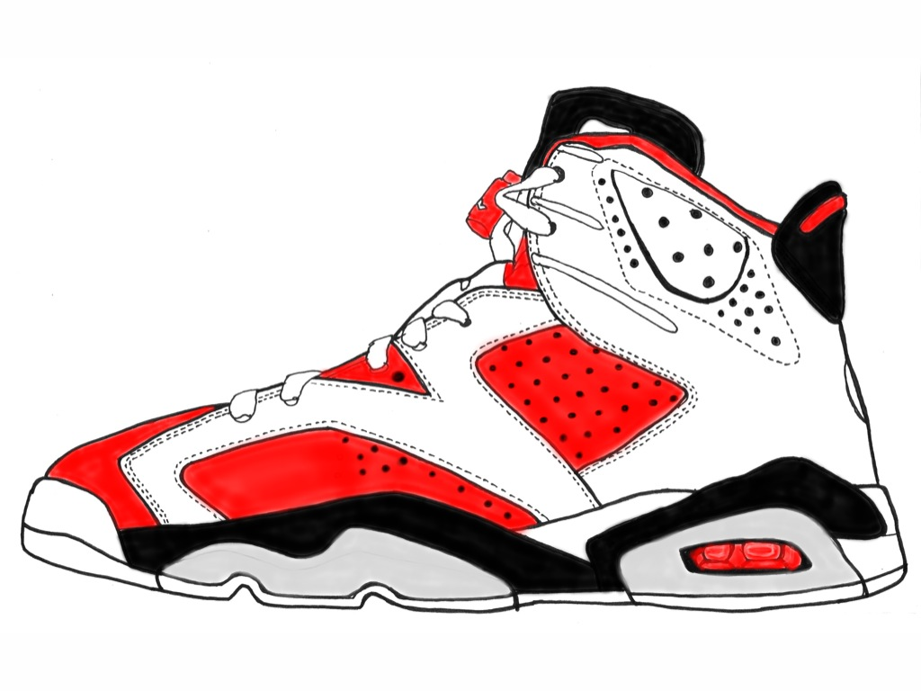 Air Jordan 5 Clipart - Clipart Kid