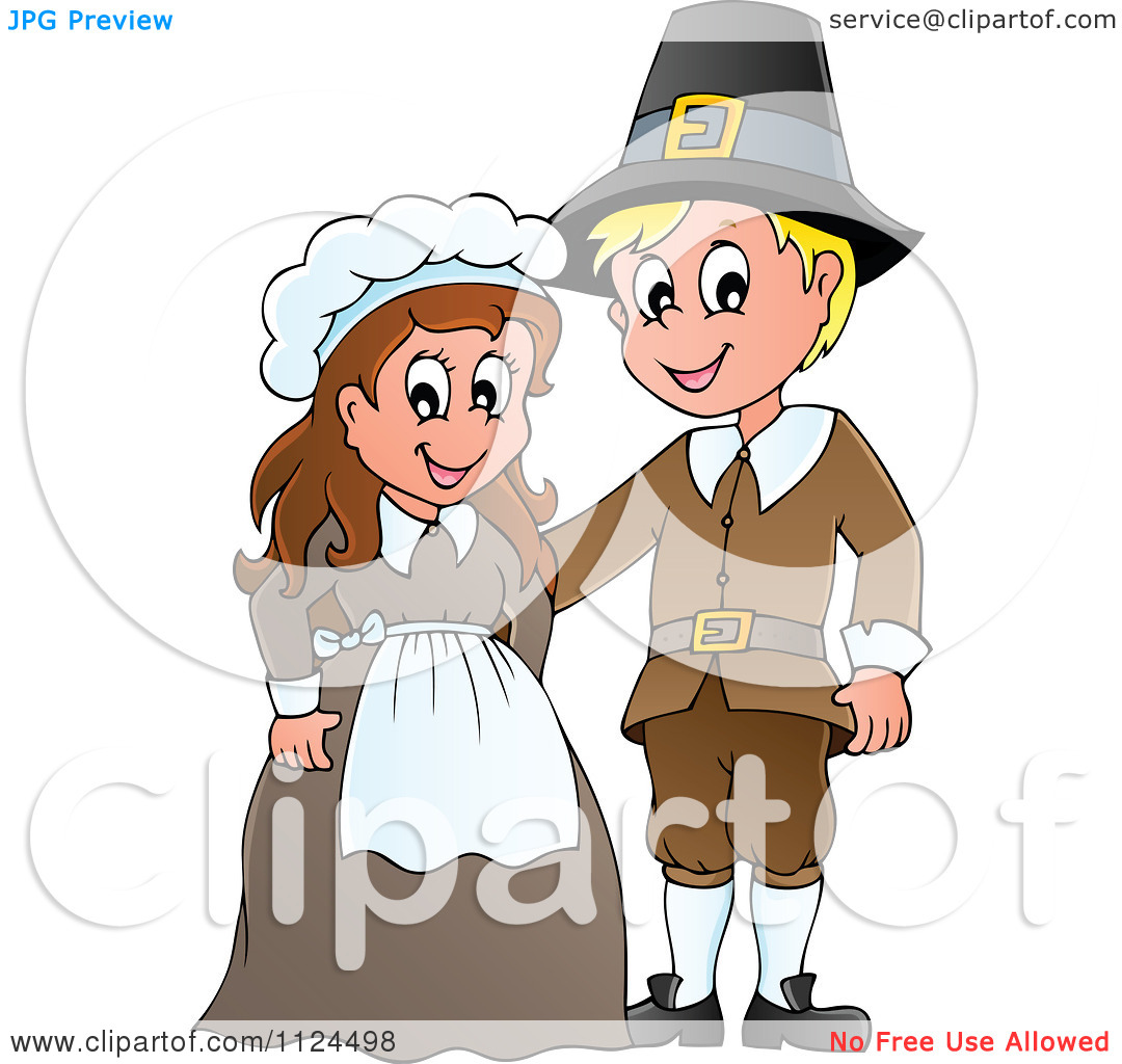 pilgrim cartoon clipart clipart kid